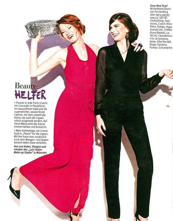 Make-up Tipps in Jolie Page 1 Januar 2013