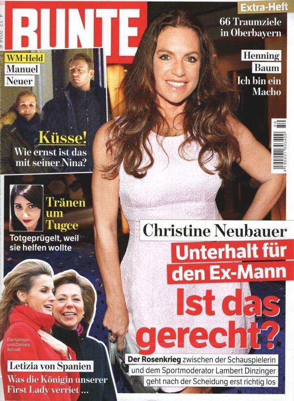 Bunte Cover Dezember 2014 - Beauty Tipps