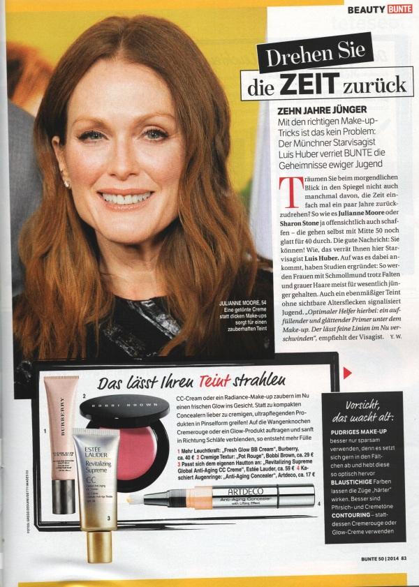 Bunte Page 1 Dezember 2014 - Beauty Tipps
