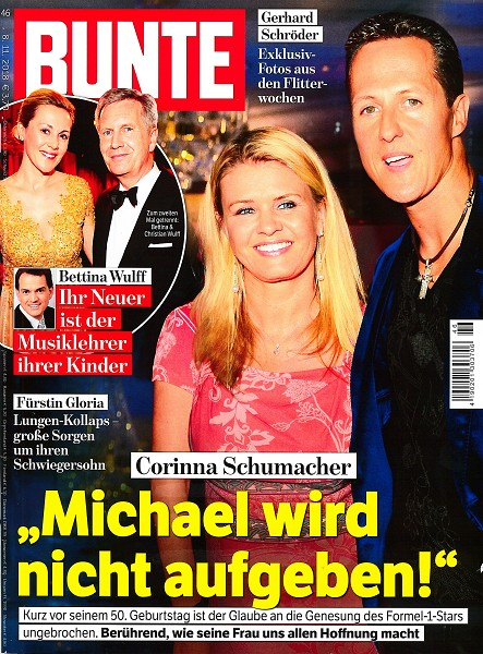 Bunte November 2018 - Cover - by Visagist Luis Huber in München