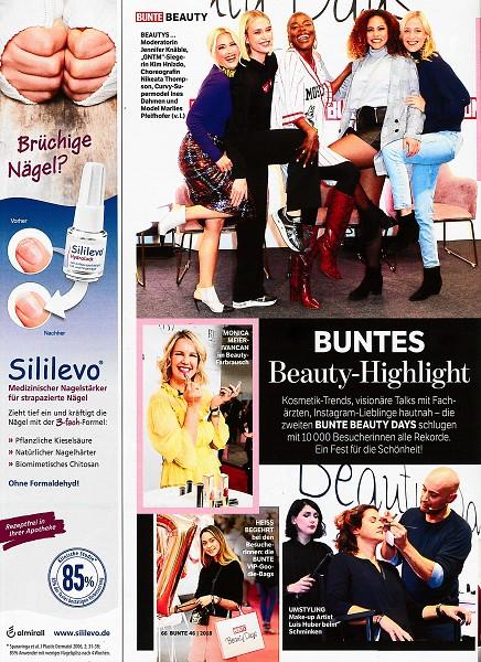 Bunte November 2018 - Page - by Visagist Luis Huber in München