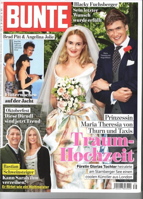 Bunte Cover September 2014
