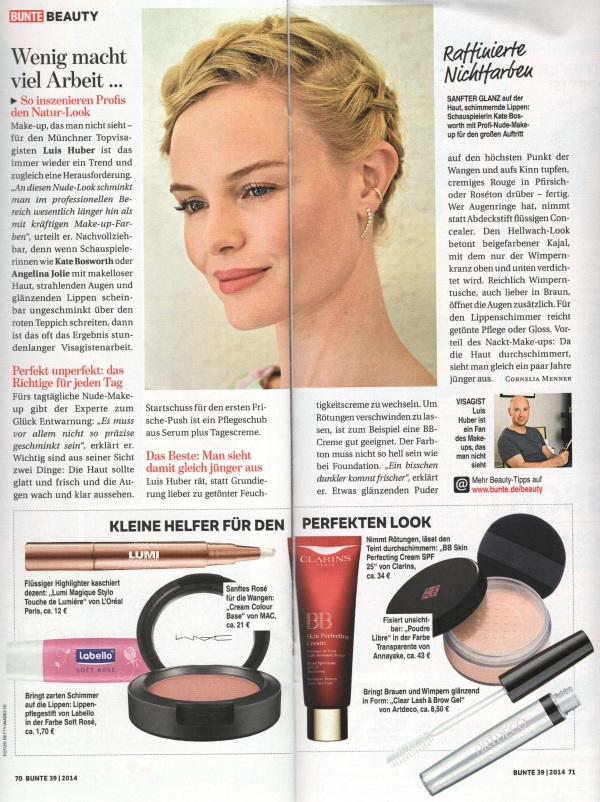 Bunte Page 2 September 2014