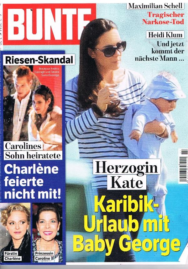 Bunte Cover Februar 2014