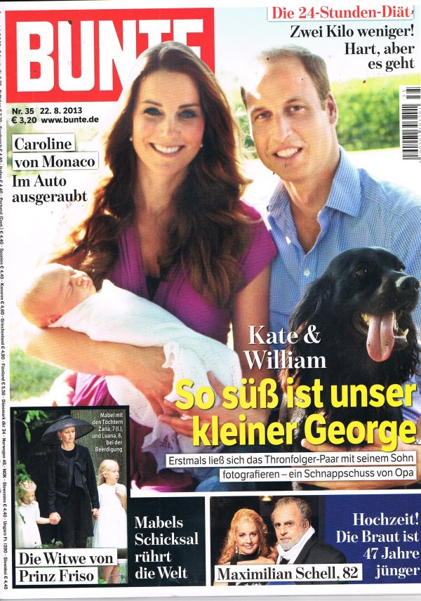 Bunte Cover August 2013