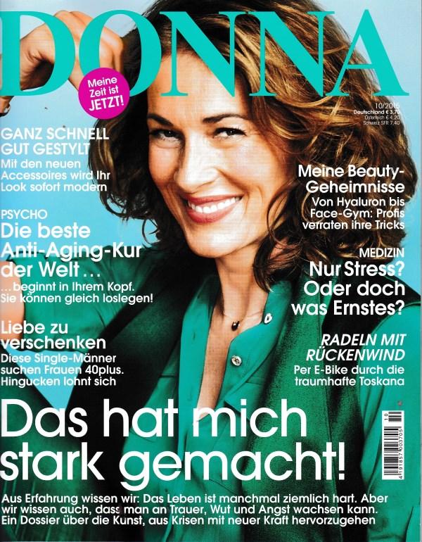 Donna Oktober 2015 - Cover