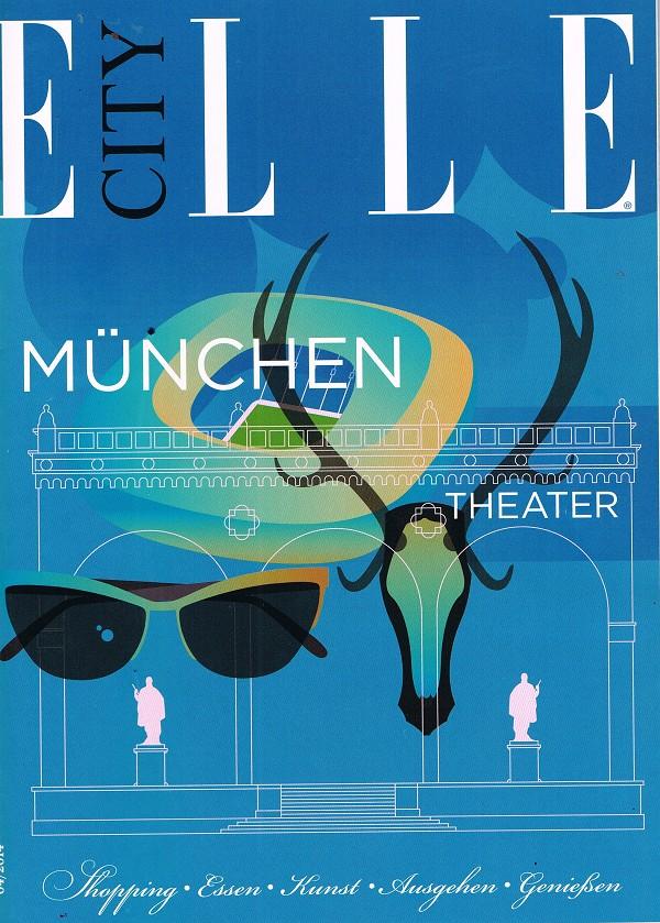ELLE City Guide Cover April 2014