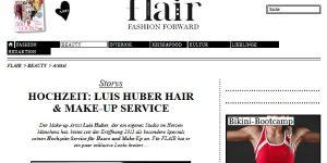 Story auf flair fashion & home über den Hochzeits-Service von Luis Huber