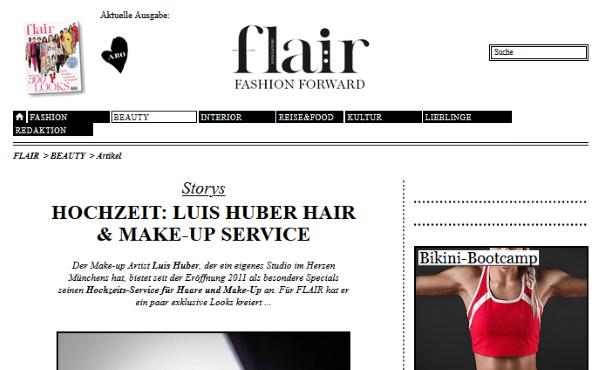fashion & home Juni 2013 - Hochzeits-Service von Luis Huber