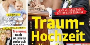 Frau im Spiegel Juli 2016