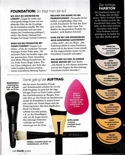 Freundin Page 1 November 2014