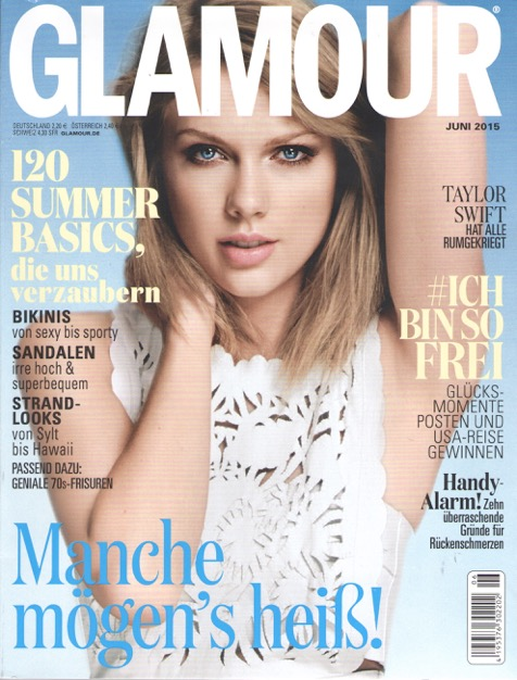 Glamour Juni 2015 - Cover
