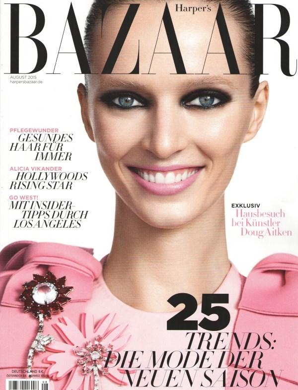 Harper's Bazaar August 2015 - Cover