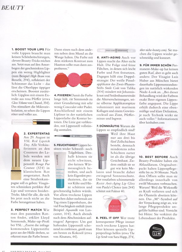 Harper's Bazaar August 2015 - Page