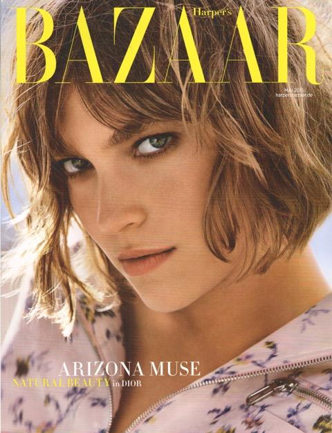 Harpers Bazaar Mai 2015 - Cover