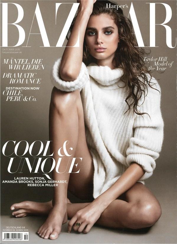 Harper's Bazaar Oktober 2015 - Cover