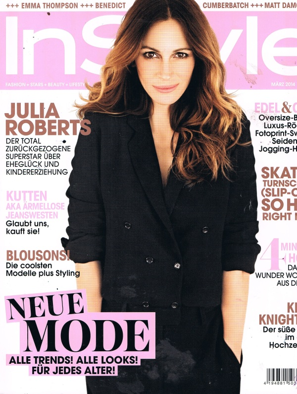 Instyle Cover März 2014