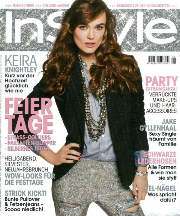 InStyle Cover Januar 2013