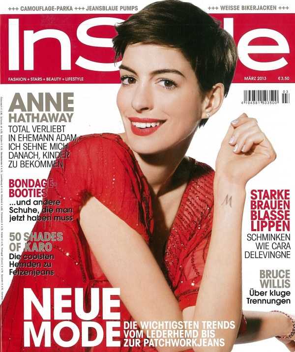 InStyle Cover März 2013