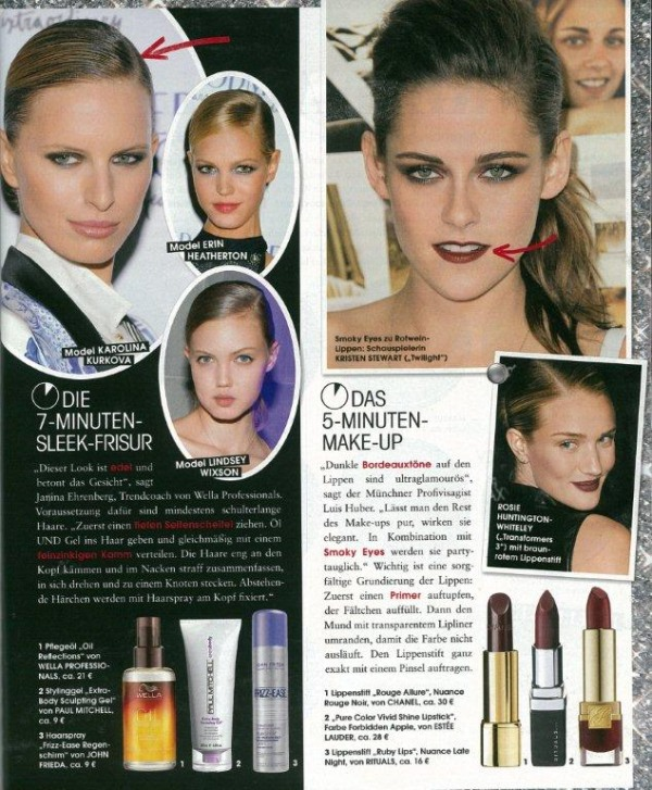 InStyle Page Januar 2013