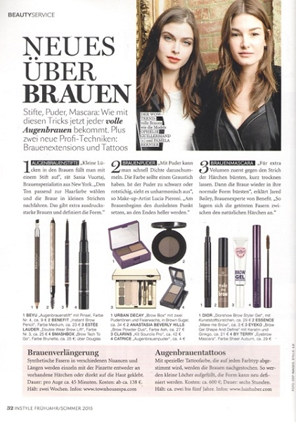 Instyle Beauty Mai 2015 - Page 1