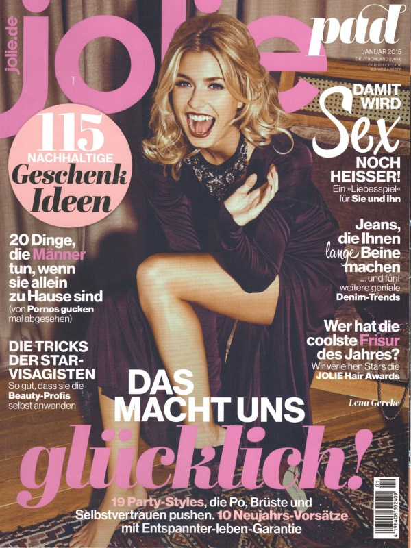 Jolie Januar 2015 - Beauty Tipps - Cover