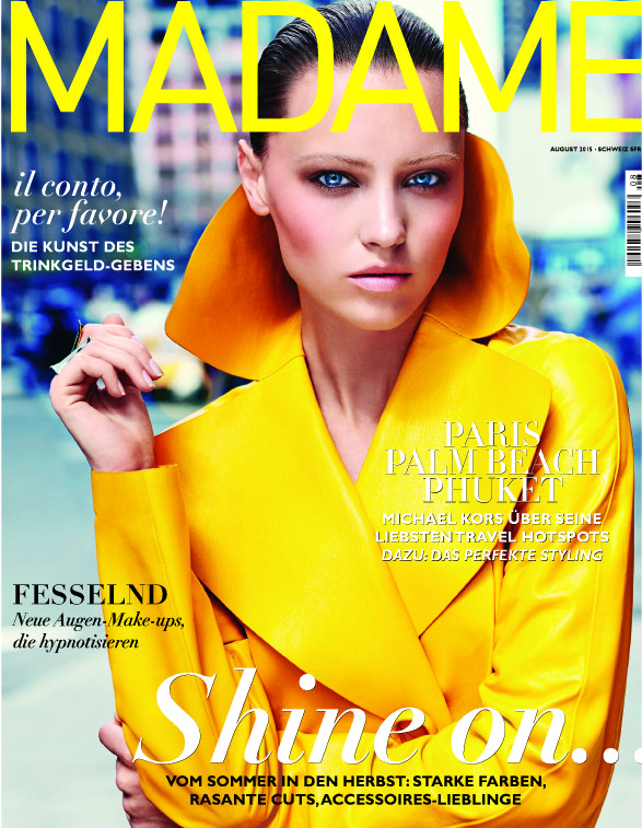 Madame August 2015 - Cover