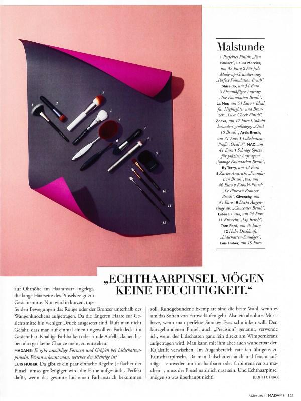 Madame März 2017 - Page 2 - by Visagist Luis Huber in München