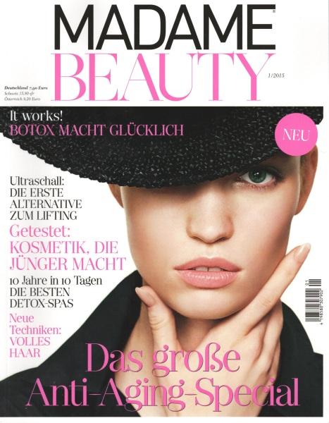 Madame Beauty Cover November 2014