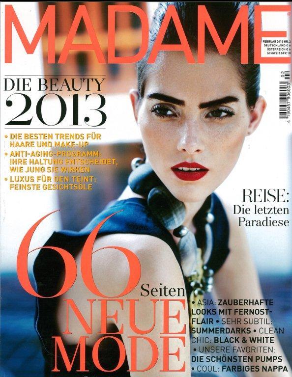 Madame Cover Februar 2013
