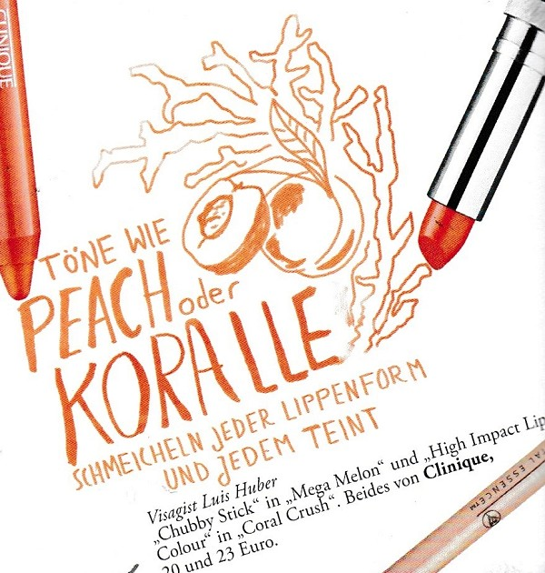 Myself Februar 2015 - Make-up Trends - Peach