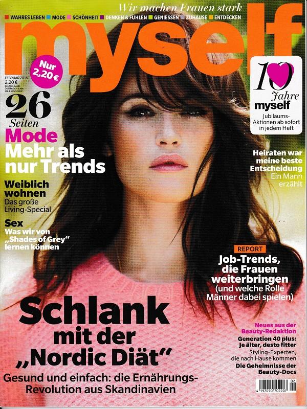 Myself Februar 2015 - Make-up Trends - Cover