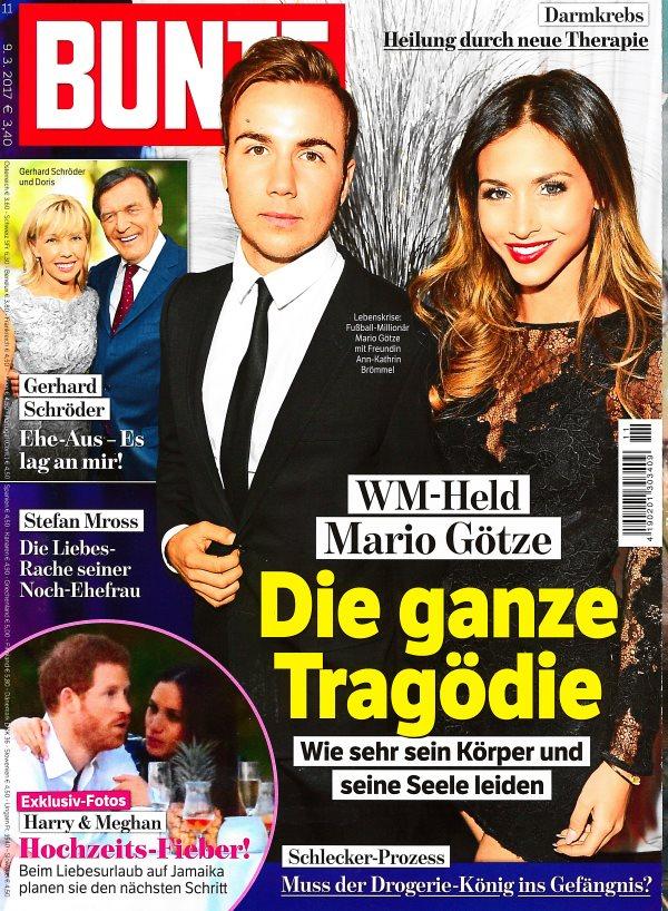 Bunte März 2017 - Cover - by Visagist Luis Huber in München