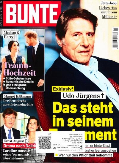 Bunte Juni 2018 - Cover - by Visagist Luis Huber in München