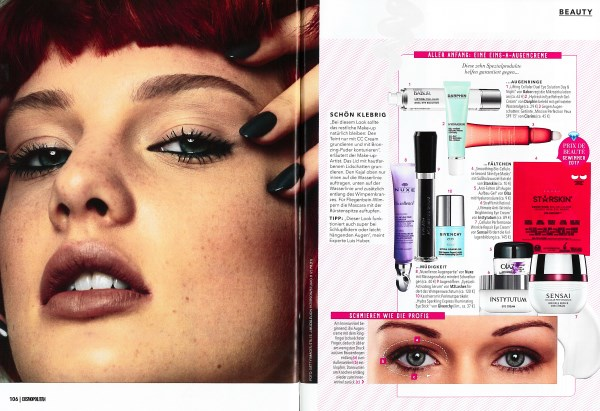 Cosmopolitan Juni 2017 - Page 3 - by Visagist Luis Huber in München