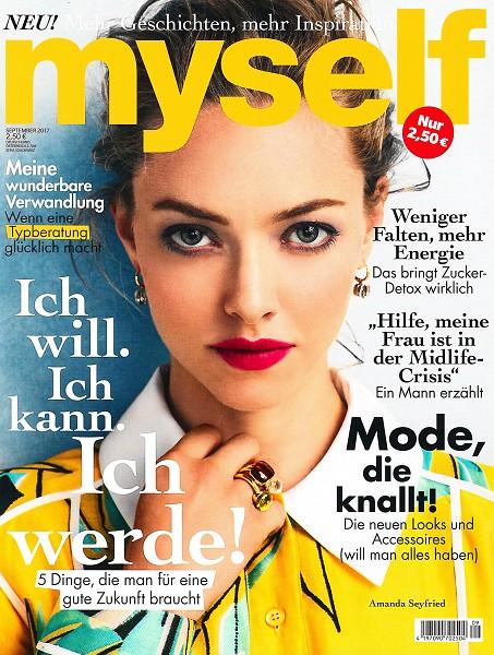 Myself September 2017 - Cover - by Visagist Luis Huber in München
