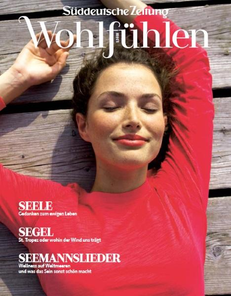 Süddeutsche Zeitung 2018 - Cover - by Visagist Luis Huber in München