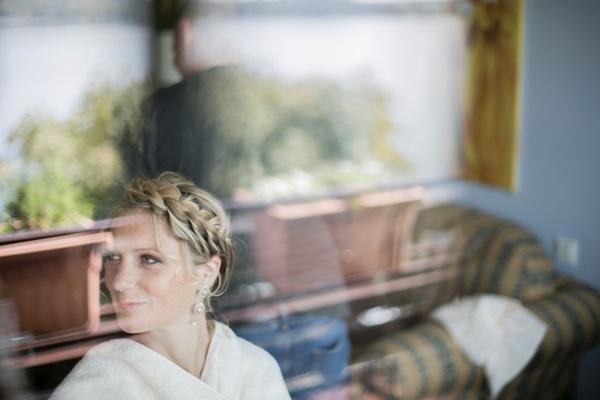Frisur für die Hochzeit bei Visagist Luis Huber in München