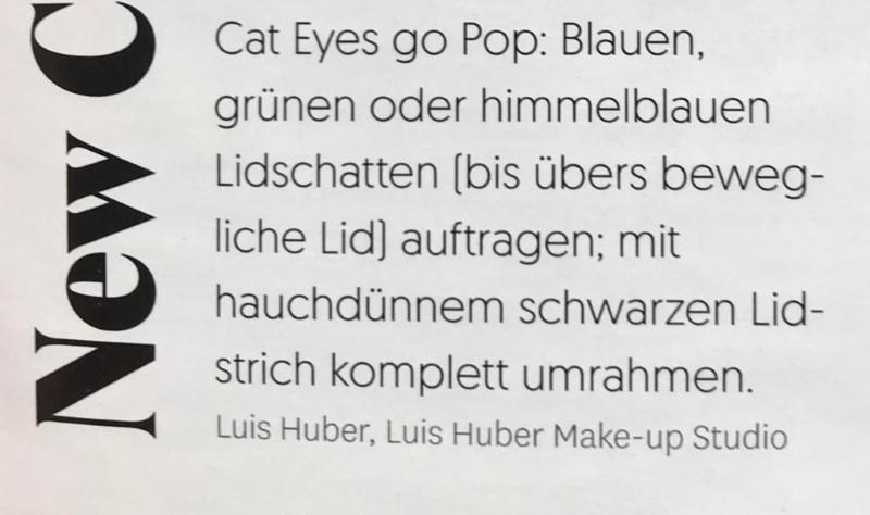 Glamour Oktober 2020 - Make-up Tipps von Visagist Luis Huber - Page 3